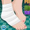 PEDICURE AFTER ANKLE SURGERY