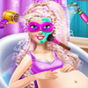 PREGNANT SUPER BARBIE SPA