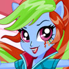 RAINBOW DASH SCHOOL SPIRIT STYLE