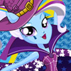 RAINBOW ROCKS TRIXIE DRESS UP