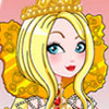 ROYALLY EVER AFTER APPLE WHITE DRESS UP