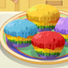 RAINBOW MUFFINS SARA'S COOKING CLASS