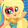 RAINBOW ROCKS APPLEJACK DRESS UP
