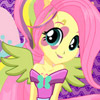 RAINBOW ROCKS FLUTTERSHY DRESS UP