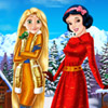 RAPUNZEL AND SNOW WHITE WINTER HOLIDAY