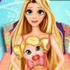 RAPUNZEL BABY BIRTH GAME