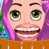 RAPUNZEL TOOTH CARE GAME