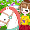 RIDING A HOBBYHORSE DRESS UP