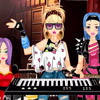 ROCKBAND KEYBOARD GIRL DRESS UP