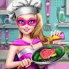 SUPER BARBIE REAL COOKING
