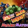 SUPERHERO LOGOS MEMORY MATCH