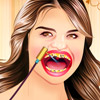 SELENA GOMEZ AT DENTIST GAME