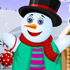 SNOW MAN MERRY CHRISTMAS DRESS UP GAME
