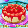 STRAWBERRY CHEESECAKE COOKING GAME