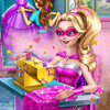 SUPER BARBIE DESIGN RIVALS GAME