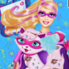 SUPER BARBIE KITTY CARE