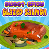 SWEET SPICY GLAZZED SALMON