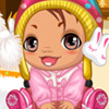 SWEET WINTER BABY DRESS UP