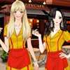 TWO BROKE GIRLS DRESS UP 2