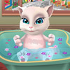 TALKING ANGELA BATHING