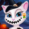 TALKING ANGELA HALLOWEEN MAKEOVE