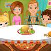 THANKSGIVING FAMILY DINNER DECOR GAME