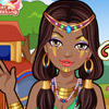 TRIBAL PRINCESS MAKEOVER