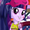 TWILIGHT SPARKLE FACE PAINTING