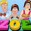 ZOE AT FOOD CARNIVAL